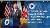 Updates from Governor Baker