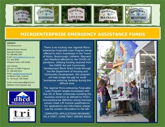 Small Business Assistance Grants!