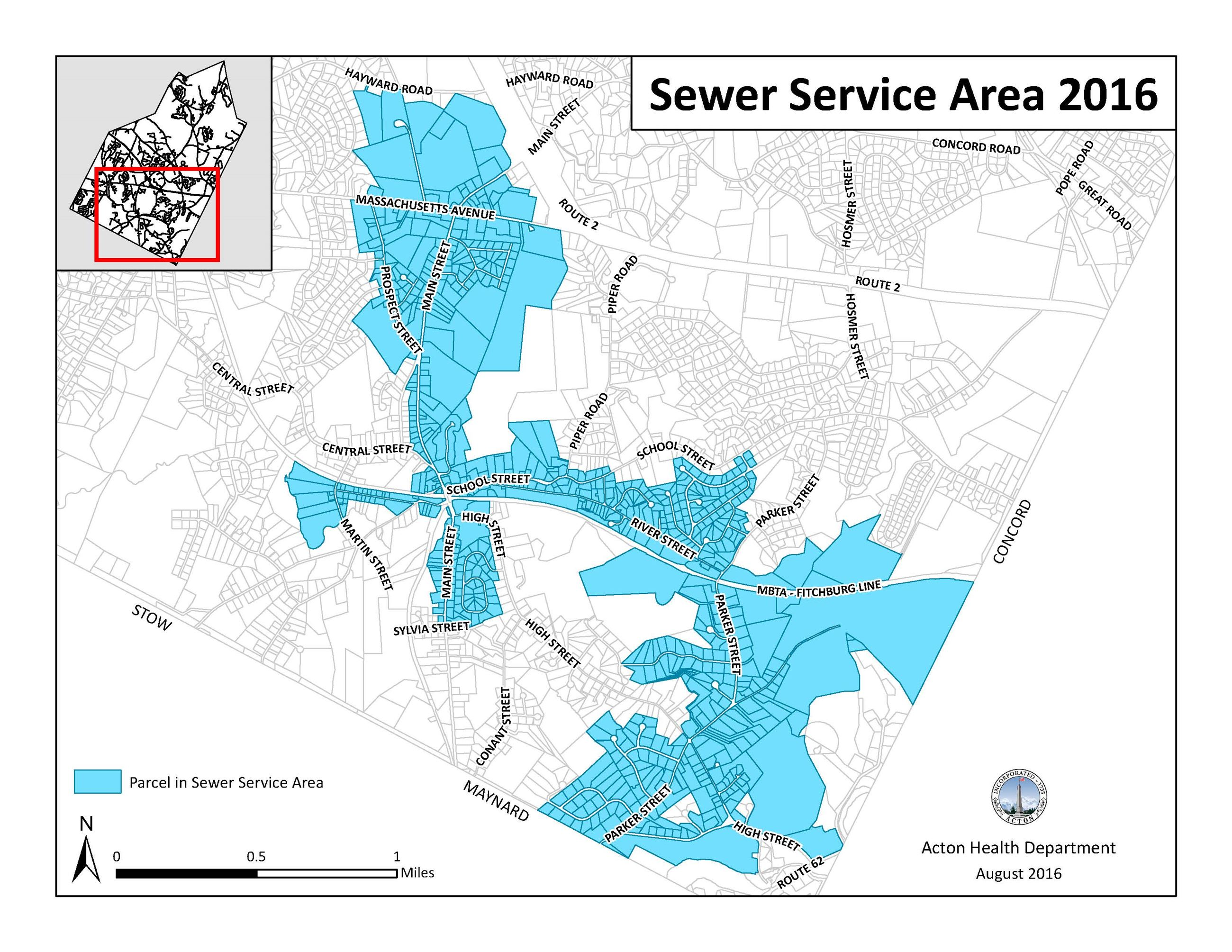 Sewer District Map
