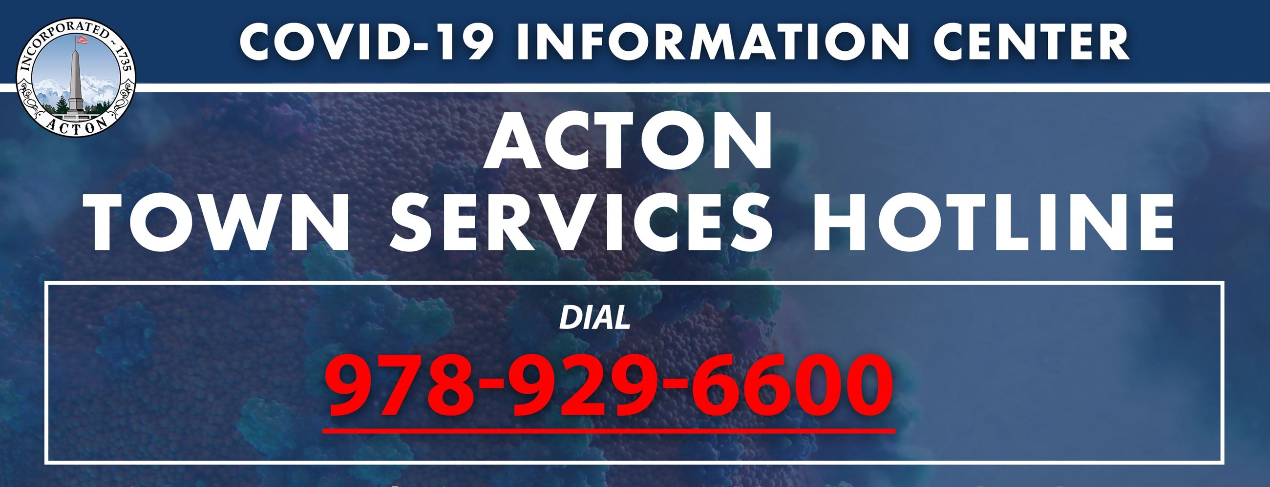 Town Services Hotline
