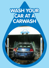 Wash your car at a Carwash
