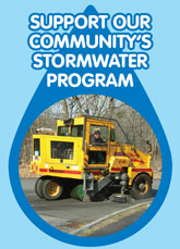 Support community stormwater program